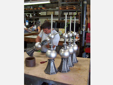 Cathedral Galvanized Finials