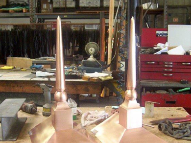 Silverado Copper Finial